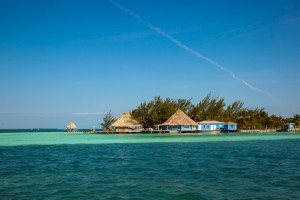 The view of our Belize All Inclusive Private Island