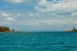 Distance views of our Belize Private Island