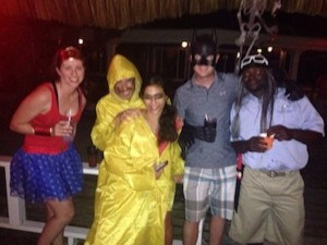 Fun Halloween Party at our Belize All Inclusive Resort