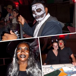 Dressing up for Halloween at our Belize All Inclusive Resort