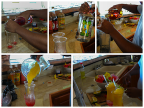 Steps to making you own Belize All Inclusive Drink