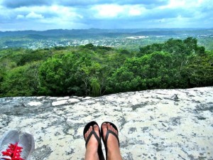 View from the top of Xunantunich Maya Ruin Belize All Inclusive Packages