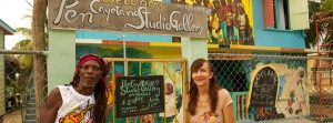 Cayetano Art Gallery located in Dangriga, Belize