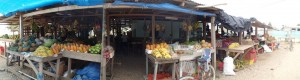 Enjoy Fresh Fruits at the Dangriga Market