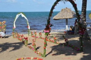 Belize All Inclusive Beach Front Wedding