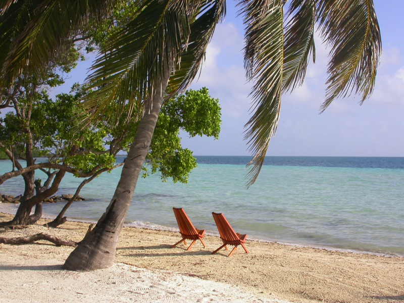 Private Island All Inclusive Vacation on the beach in Belize