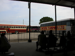 Travelling to Dangriga Town via Local Bus