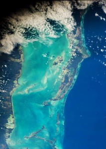 NASA Astronaut Jeff Williams spots Belize coral reef from space!