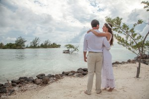Belize Sunset Beach Wedding