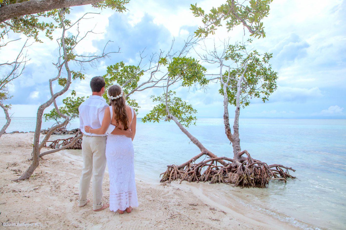 Javier and Christina's Belize Beach Wedding