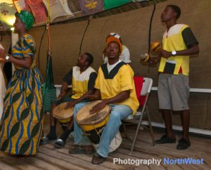 Garifuna Cultural Celebration with local drumming and punta dancing