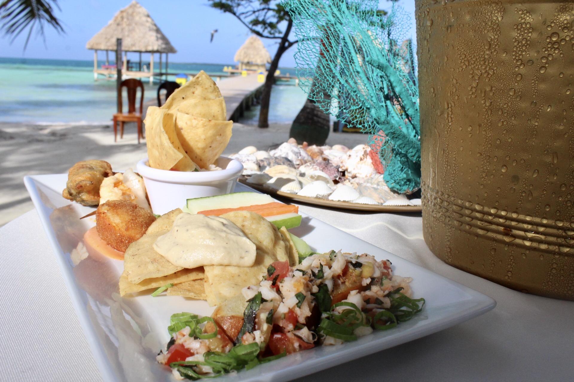 Lobster delicacies at Coco Plum Island Resort
