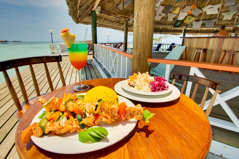 Belizean inspired dining