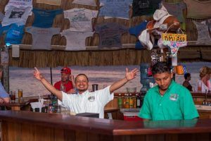 Coco Plum Island Resort - Good times with the staff