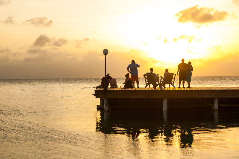 Belize sunset - Group Trip