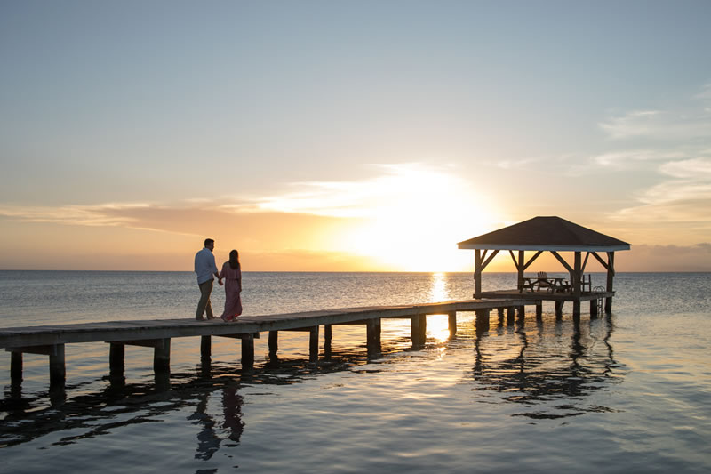 Celebrate Your Anniversary On This Private Belize Island Resort