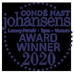 Conde Nast Johansens Award winner 2020
