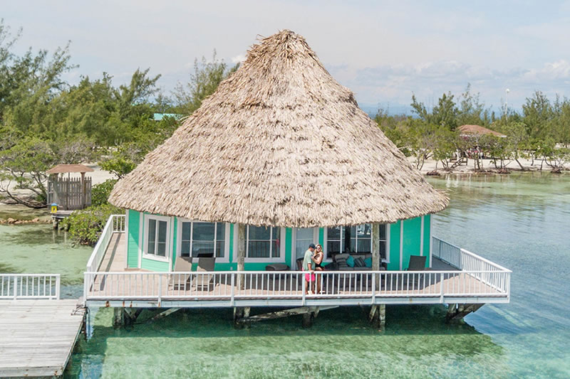 Over-The-Water Bungalow In Belize