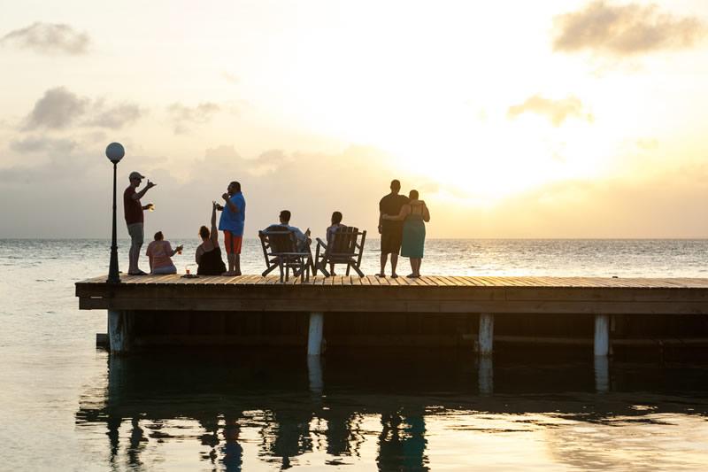 rent a private belize island resort