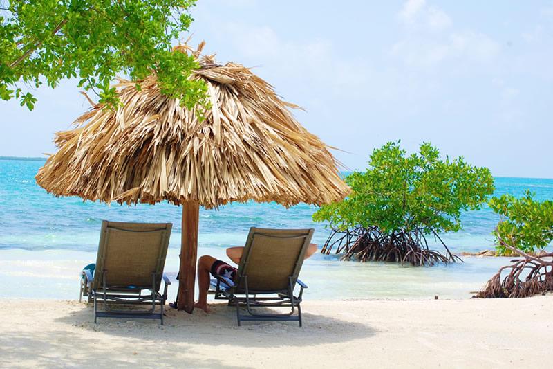 belize island paradise