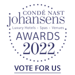 Conde Nast Johansens Award Vote for us