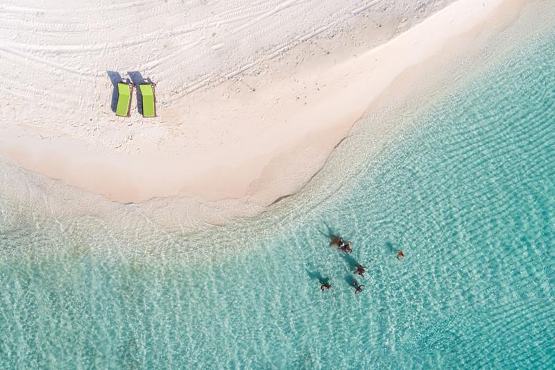 New Private Island Resort - Drone shot