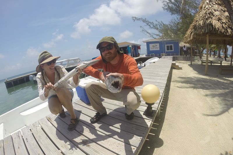best fishing in belize for couples