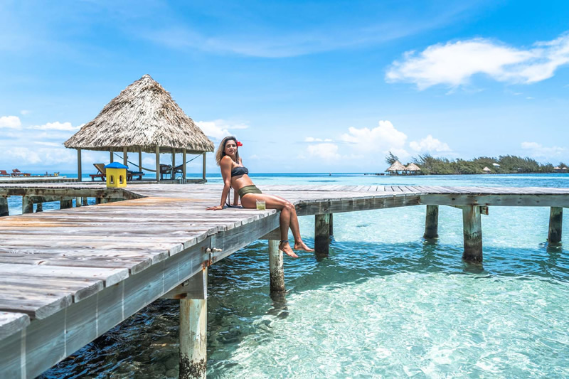 private island resort vacations in Belize