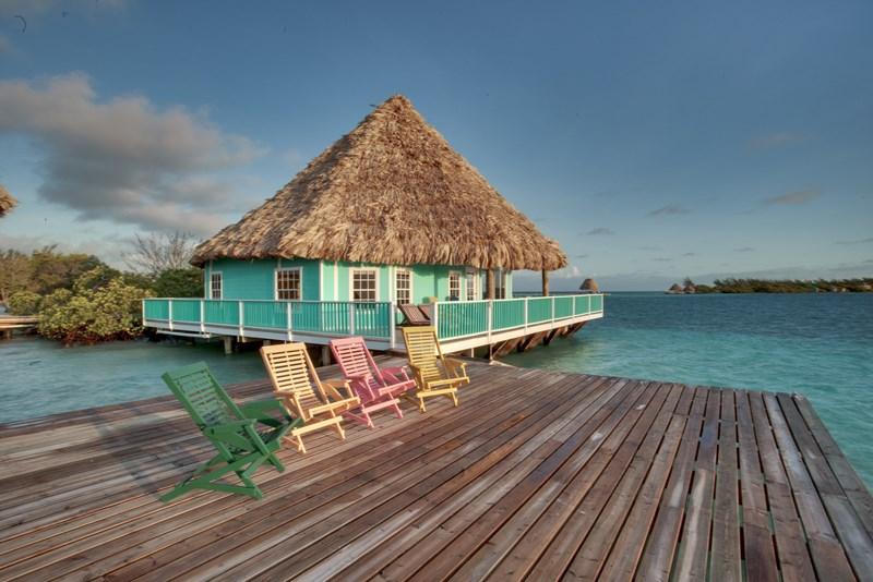 belize all inclusive overwater villa rental 3 br. Black Bedroom Furniture Sets. Home Design Ideas