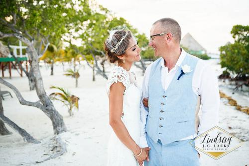 Private Island Wedding in Belize - Beach Wedding Ceremony